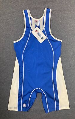 $30 • Buy NWT Brute Maverick Custom Wrestling Singlet - BLUE - Freestyle/Greco/Folkstyle