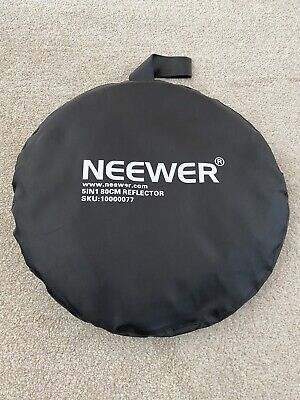 £17.50 • Buy Neewer 80cm 32  5-in-1 Light Mulit Collapsible Disc Reflector Photography.