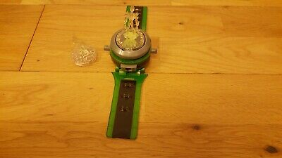 Ben Ten 10 Ultimate Omnitrix Watch & 2 Crystal Toppers  Lights & Sounds • 20£