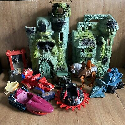 $24.71 • Buy Masters Of The Universe Bundle - Castle Greyskull & Vehicles - Spares Repairs