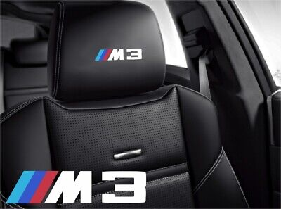 $8.97 • Buy 5x /// M3 BMW Sticker Logo Symbol For Leather Seats And Other Flat And Smooth