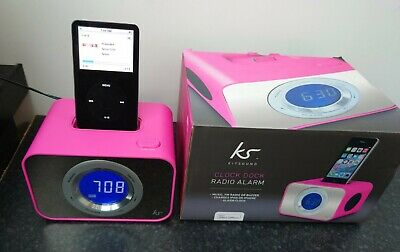 AU10.10 • Buy Iphone Docking Station, Alarm Clock. KS Kitsound. Pink