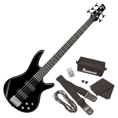 AU1074.90 • Buy 107151 IBANEZ GSR205 BK 5-string Electric Bass With Accessory Set
