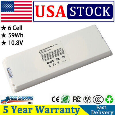 $19.90 • Buy Rechargeable Battery For Apple MacBook 13  Inch A1181 A1185 MA561 MA566 PC WHITE