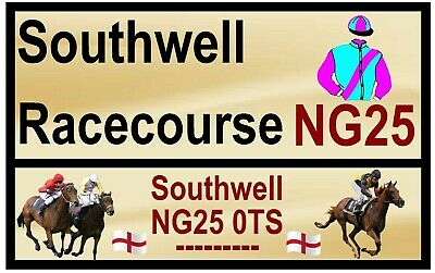 £2.15 • Buy Horse Racing Road Signs (southwell) - Souvenir Novelty Fridge Magnet / Gifts