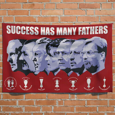 £13.99 • Buy Liverpool FC   Success Has Many Fathers   5ft X 3ft  Flag