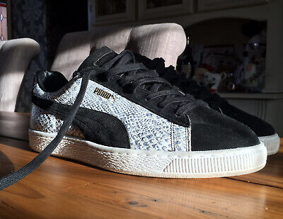 £70 • Buy PUMA BASKET PYTHON HAND MADE IN JAPAN Uk 10 Suede States Clyde 90680 RARE