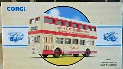 $ CDN27.56 • Buy Corgi 97320  Leyland Atlantean RIBBLE Gay Hostess Double Decker Scale 1/50 (9)