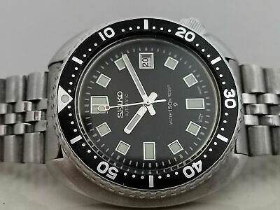 $ CDN91.54 • Buy Seiko Diver 6309-7040 Turtle 6105 Apocalypes Mod Automatic Mens Watch 0n0443