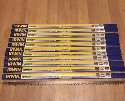 £15.99 • Buy 11 Bow Saw Blades 610 Mm  24 Inch IRWIN XPERT HARDPOINT TIMBER CUTTING BLADEs