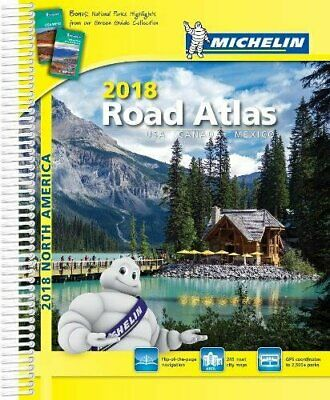 £27.74 • Buy Michelin 2018 Road Atlas USA Canada Mexicao Michelin Editions Des Voyages Spi