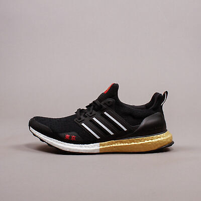$ CDN121.46 • Buy Adidas Ultra Boost Tokyo Japan Core Black White Gold FY3425 Men SIze 8-13 NEW DS