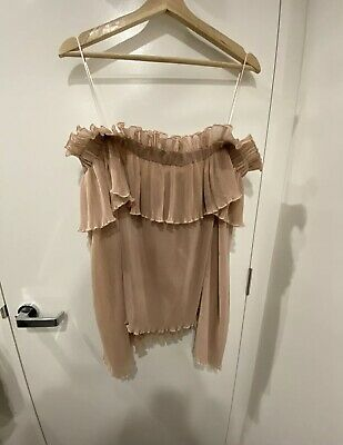 AU65 • Buy Alice Mccall Grand Amour Off Shoulder Top Size 12