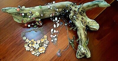 $ CDN10.03 • Buy FASHION JEWELRY Lot - Lia Sophia, Chicos, NY&Co, More - 6 Spring Necklaces
