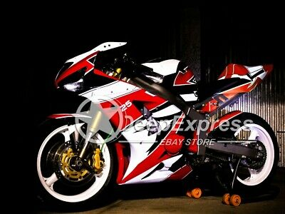 $450 • Buy INJECTION Fairing Bodywork Kit Fit For Kawasaki Ninja ZX-6R ZX636 2003-2004 A