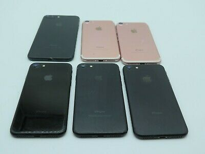 $ CDN152.50 • Buy Lot Of 6 Apple IPhone 7 & 7+ Plus As-Is/Broken/For Parts UNTESTED A1778 A1784