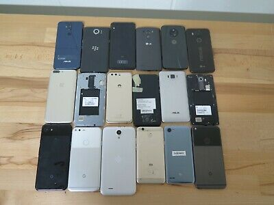 $ CDN44 • Buy Lot Of 18 Android Phones As-Is/For Parts/Repair/Untested Google, Sony, One Plus