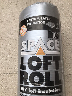 £49 • Buy 3x Knauf Space Loft Insulation Roll 100mm Thickness 8.3m2 Coverage Per Roll