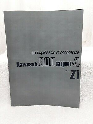 AU46.42 • Buy New Reproduction Kawasaki Z900 Z1 Super4 Dealer Brochure Memorabilia Manual 1972