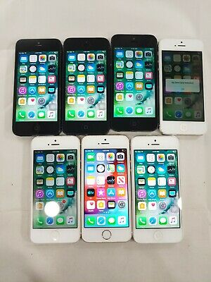 $ CDN134.72 • Buy LOT Of 7 Apple IPhone 5/5S 16GB Assorted Carriers And Colors Smartphone A083L