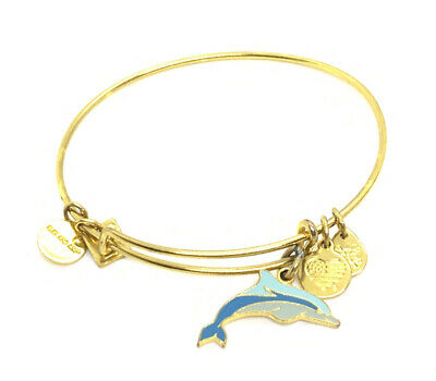 AU1.28 • Buy Alex And Ani Charity By Design Dolphin Charm Adjustable Bracelet