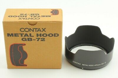 $ CDN241.98 • Buy [MINT] Contax GB-72 Metal Lens Hood For Contax 645 Planar 80mm F/2 From Japan