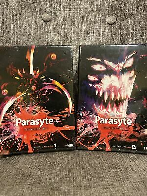 £100.94 • Buy Parasyte The Maxim Collection 1 2 Limited Edition Box Set Blu-ray & DVD USA