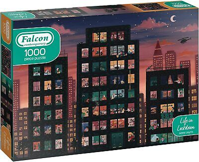 £11.99 • Buy 11357 Falcon Deluxe -  Life In Lockdown Contemporary Jigsaw Puzzle (1000 Pieces)