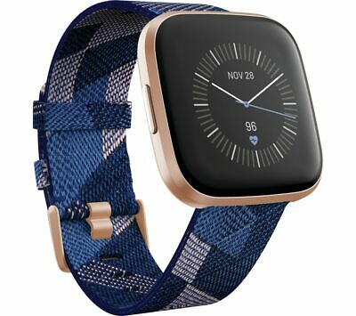 $ CDN309.41 • Buy FITBIT Versa 2 Special Edition  - Woven Strap, Navy & Pink