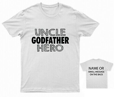 £11.95 • Buy Uncle Godfather Hero Funny T-shirt