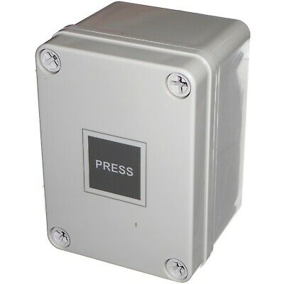 £32.95 • Buy IP66 Waterproof Outdoor Time Lag Touch Switch 2s - 2hr Delay For Garden Lighting