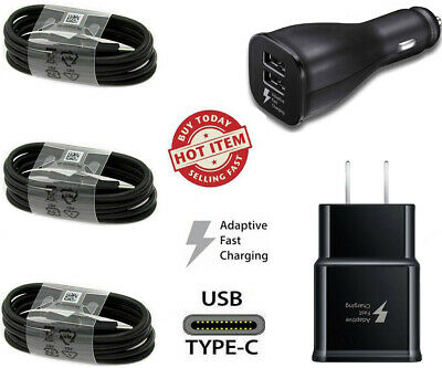 $ CDN10.95 • Buy For Samsung Galaxy Fast Car Wall Charger Type-C USB-C Cable S8 S9 S10 Note 20 10