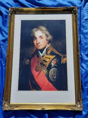 £39.98 • Buy Framed Print  Admiral Horatio Lord Nelson  High Quality Ornate Gold Effect Frame