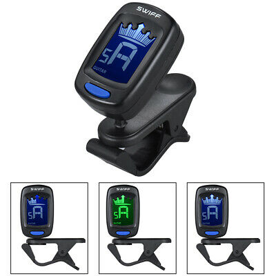 $ CDN11.65 • Buy Clip-On Automatic Digital Electronic Crown Tuner LCD Display For Guitar N0R6