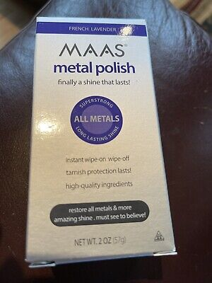 $23.99 • Buy MAAS Polishing Creme For All Metals, French Lavender 2oz(57g) Stainless Steel!