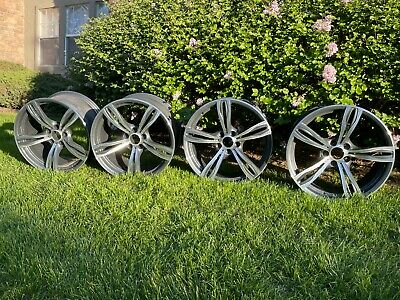 $2727.27 • Buy Set Of 4 OEM Used 20  BMW M6 Rims Staggered 2 20X9.5J And 2 20X10.5J Good Shape!