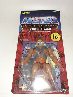 $27.99 • Buy Masters Of The Universe Robot He-Man MOC Super 7 Vintage Series FREE SHIPPING