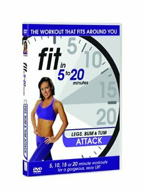 £7 • Buy Fit In 5 To 20 Minutes - Legs, Bum And Tum Attack [DVD]
