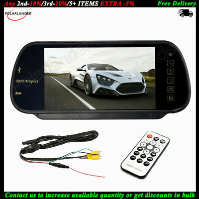 AU39.90 • Buy 7  Color TFT LCD FM Radio Car Rear View Mirror Monitor      For Reverse Camera