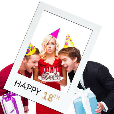 £2.89 • Buy 18th 21st 30th 40th Photo Decoration Birthday Party Picture Frame Props Booth