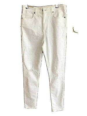 AU45.50 • Buy NEW Ksubi Hi And Wasted White Out Womens Jeans White Sz 30
