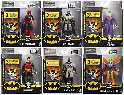 £9.99 • Buy DC Comics Batman 4 Inch Figures With 3 Mystery Accessories