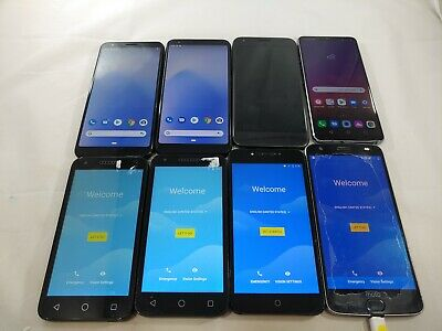 $ CDN0.01 • Buy LOT Of 8 Pixel 3AXL Pixel 1 Moto Z2 Force LG G7 Thinq KR Alcatel Raven A090L
