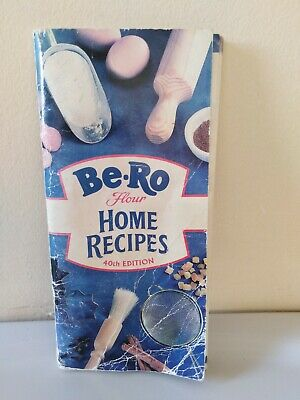 Vintage Be-Ro Flour Home Recipe Book 40th Edition.. See Condition Details • 10£