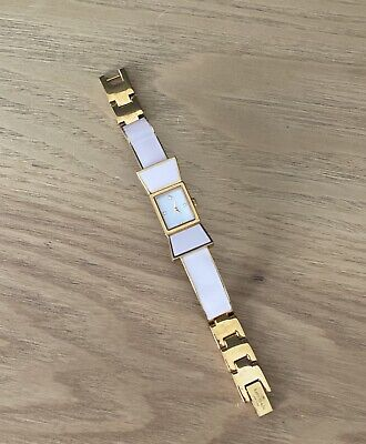 $ CDN72.67 • Buy $250 Kate Spade 'Kenmare' Bow Watch Bracelet Gold Pink Enamel