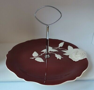 $ CDN8.63 • Buy Vintage Royal Winton Grimwades Cake Stand/plate