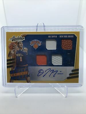 AU96.58 • Buy 2020-21 Absolute OBI TOPPIN Quad Relic Auto Tools Of The Trade /199 KNICKS