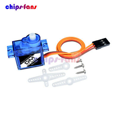 AU1.76 • Buy Mini Gear Micro Servo Motor 9G SG90 For RC Robot Helicopter Airplane Car Boat