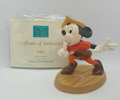 $ CDN288.22 • Buy Walt Disney Classics WDCC Mickey And The Beanstalk Mickey Mouse  Shhh!  RETIRED