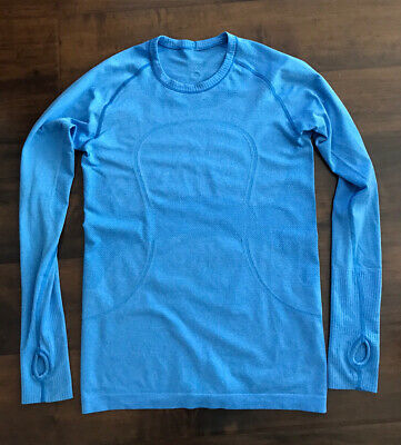 $ CDN54.99 • Buy Lululemon Run Swiftly Tech Long Sleeve.  Blue. Size 8.